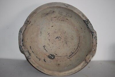 GOOD ANCIENT GREEK POTTERY LARGE PATERA PLATE 4th CENTURY BC