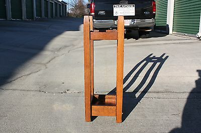 Gustav Stickley No. 54 Mission Oak Arts & Crafts Umbrella Stand 6