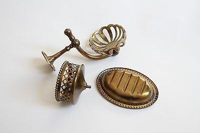 antique soap holder tumbler cup | silvers soap bathroom vtg deco victorian 5