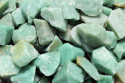 500 Carat Bulk Lot Natural Rough Green Aventurine, Raw Gemstone (100 Grams) 5