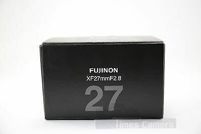 *NEW* Fujifilm Fujinon XF 27mm F/2.8 F2.8 Lens, Black For X-T2 X-T1 X-Pro 2 XT10 2