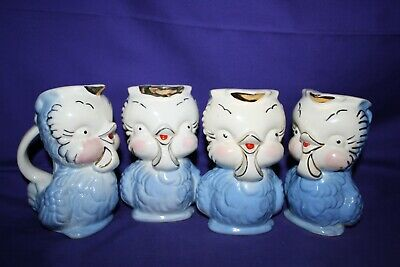 1940's 1950's Shawnee Pottery Chick Creamer Pitcher 16 different available 2