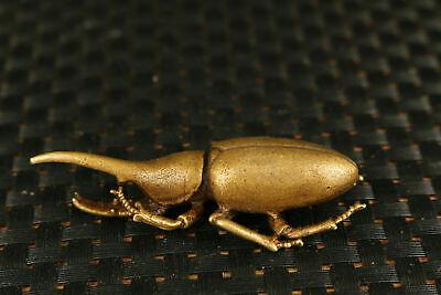 unique bronze 3 a set beetle Statue figure netsuke tea tray decorate tea pet 4