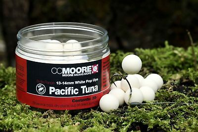 CCMoore White Pop Ups Live System 13//14 mm 35St.