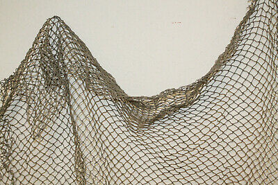 3/'x5/' Authentic Used Fishing Net Old Vintage Fish Netting Nautical Decor Party