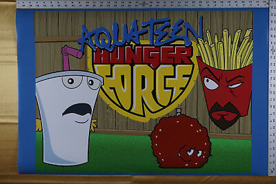 Aqua Teen Hunger Force Master Shake Frylock Meatwad Tv Poster 24x36 New Attv 17 95 Picclick Master shake is good enough, but what about a master shake so small it could fit on a postage stamp? picclick