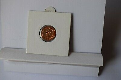 Proof half penny coin 1978 2