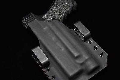 All Popular Gun Models. Light Bearing Kydex Holster MOLLE or Belt Mounted