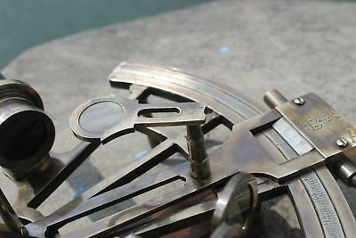 "Nautical Hand-Made Heavy 7"" Brass Sextant Astrolabe Sextant - By Masco-Nauticals 7"