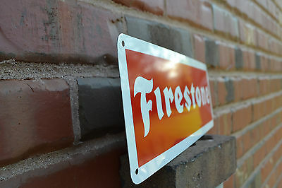 FIRESTONE TIRE SIGN Logo Shop Mechanic Store Garage Service Center ...
