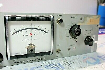North Atlantic 202BR Wideband Phase Angle Voltmete 3