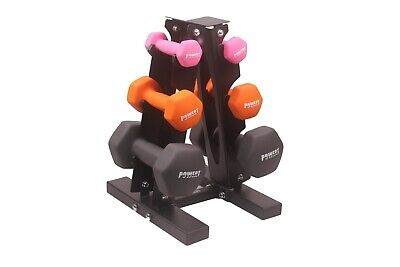 POWERT HEX Neoprene colorful dumbbell set weight lifting Workout Training 4-35LB 4
