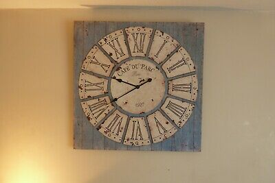 Clock Wall Decrotive Big Statement Piece 4
