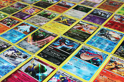 Pokemon TCG : 40 RARE OFFICIAL CARDS w/ a GUARANTEED EX, GX, or MEGA EX + HOLOS 8