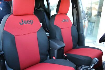 FODERE COPRISEDILI Jeep Renegade SU MISURA! Foderine RENEGADE COMPLETE Nero 38 4