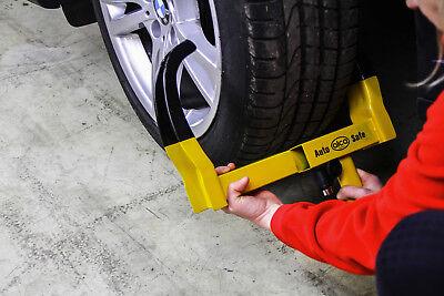 Antitheft wheel clamp tyre lock car van motorhome trailer OFFROAD VEHICLE 3 KEYS 7