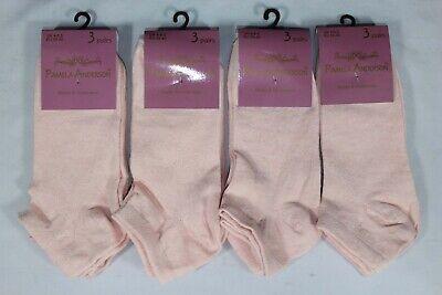 3-36 Pairs Girls Plain Short Trainer Liner Sport Ankle Cotton Socks Lot Size 4-6 2