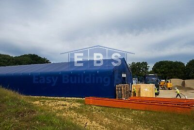 Steel Framed Storage Building Industrial Portable Temporary Commercial Warehouse 3