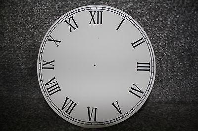 "Vintage 3"" clock face/dial Roman numeral number restore/renovation wet transfer 3"