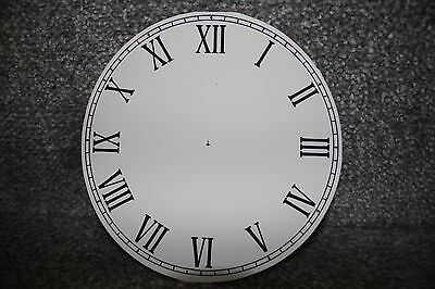 "Vintage 4"" clock face/dial Roman numeral restore/renovation wet transfer system"