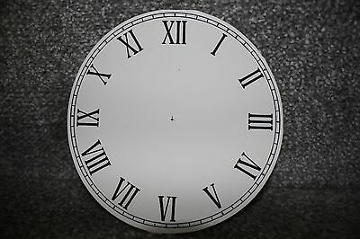 "Vintage 6"" clock face/dial Roman numeral number restore/renovation wet transfer 3"