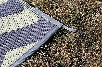 Incroyable 2 Of 4 RV PATIO RUG INDOOR OUTDOOR CAMPING MAT CHEVRON PATTERN 9x16