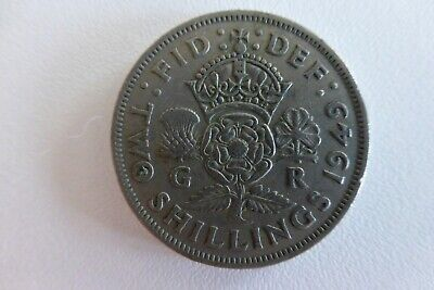 British Coinage Collectables Half Penny, Shillings, Old 50P 10P 5P - 14 Coins 4