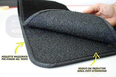 Tappetini Fiat Seicento 1998/>2010 Tappeti Auto Moquette su misura antiscivolo