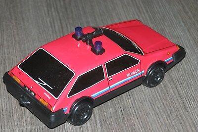 toy car msb DDR tin & plastic inertia motor 1970 Lehmann