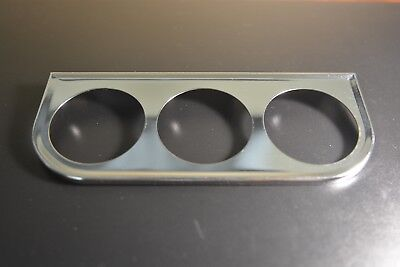 2/'/' Chrome single Gauge Mounting Bracket  2 inch to 2 1//16 gauges sunpro bosch