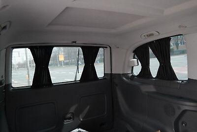 BUS GARDINEN VORHÄNGE GRAU Mercedes Vito /& Viano W639 NUR für 3 Fenster