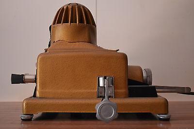 Antiguo Proyector de diapositivas Paximat + ventilador + 4 carretes 3