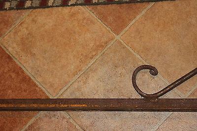 "Antique Cast Iron Steel Bed Rail Garden Trellis Railing-82"" L-Architectural-#1 4"