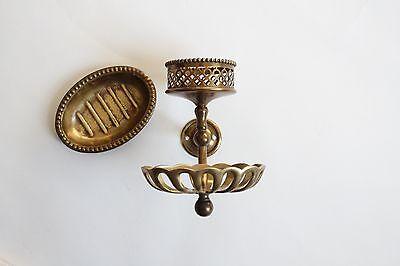antique soap holder tumbler cup | silvers soap bathroom vtg deco victorian 12