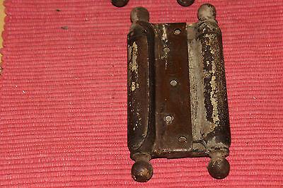 Antique Bommers Door Hinges-Pair-1800'S Patent Dates-Heavy Duty Door Hinges 11