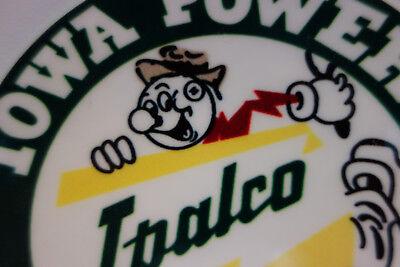 Power Company/'s Willie Wiredhand Reddy Kilowatt LICENSE PLATE TOPPER !!!