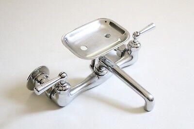 antique faucet kitchen sink   crane vtg mixing faucet victorian plumbing deco 10