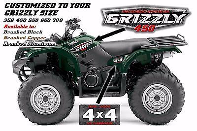 YAMAHA GRIZZLY OEM ATV Tank Decal Graphic Sticker Kit 350 450 550 660 700  4x4