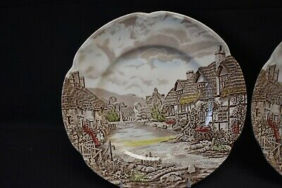 Johnson Brothers Olde English Countryside Pair of Dinner Plates 2