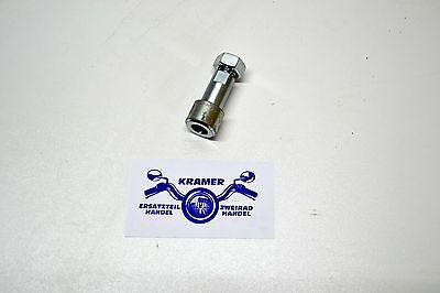 Z/ündapp Achsh/ülse Hinterrad inklusive Mutter f/ür KS 100 GTS KS C 50 Typ 529 530 Achse H/ülse