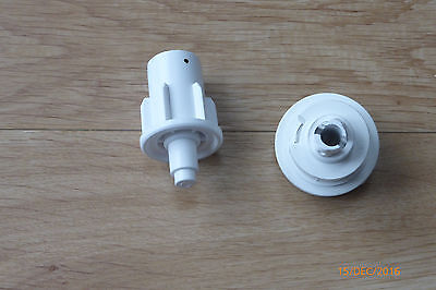 Roller Blind Chain Mechanism Repair Kit  Heavy Duty 32mm 1m Drop Nickle Chain 2