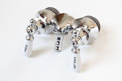 antique faucet tub filler sink   vtg mixing faucet victorian bathroom deco NOS 2