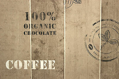 Vliestapete Kaffee Rezept weiß beige 32733-1 2,61€//1qm