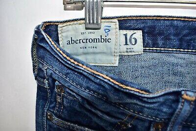 Abercrombie Fitch Kilburn Low Rise Boot Cut Boys Men Jeans Size 16 Meas 30x31 5