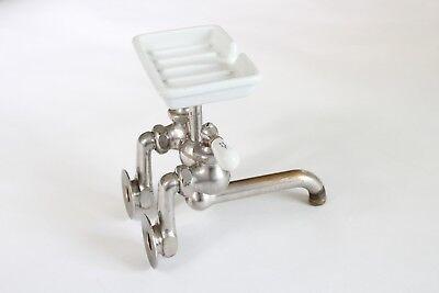 antique faucet kitchen sink | chicago vtg mixing faucet victorian plumbing deco 6