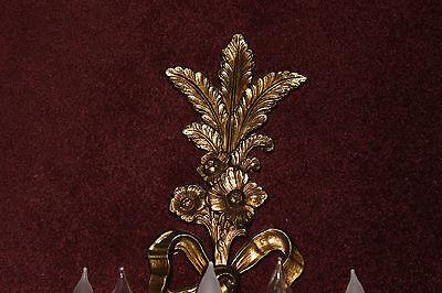 Vintage Victorian Style Candelabra Wall Sconce Brass Light Fixture-5 Lights-LQQK 3