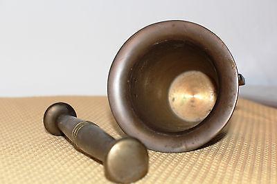 Mörser Schlegel Stössel antik Pistill Küche Pulver Deko Tabletten *6254 4