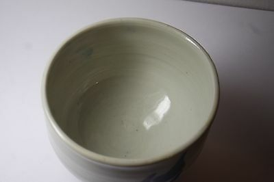 Vintage Japanese Art Studio Pottery Tea  Cup/ Bowl/ Signed 5