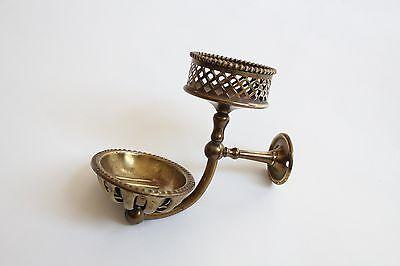 antique soap holder tumbler cup | silvers soap bathroom vtg deco victorian 4