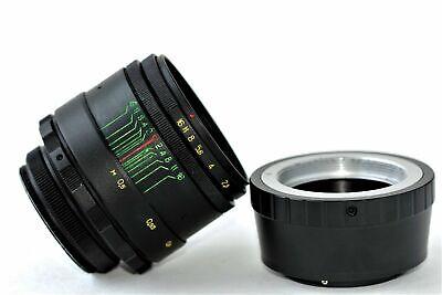 New HELIOS 44-2 2/58mm+ adapter FujiFilm M42/FX Mount BEST Russian USSR Lens 12